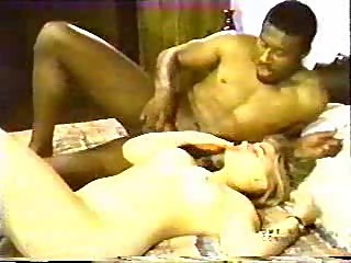 Oldie of blonde fucking her first black man
